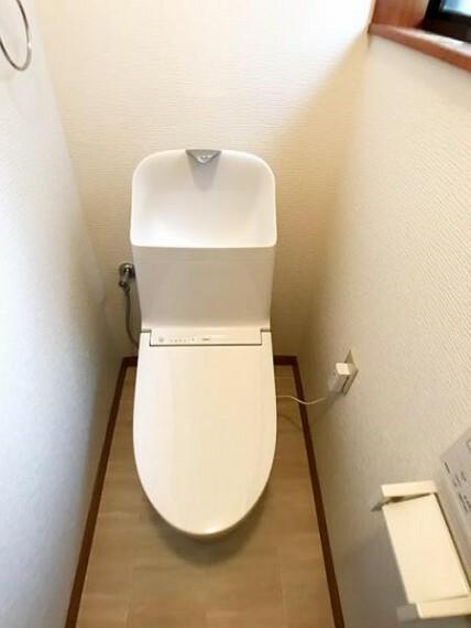 トイレ 新品交換済のトイレ