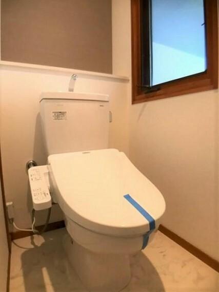 トイレ トイレ交換済み。
