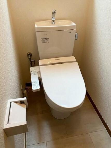 トイレ 1階トイレ新品交換済