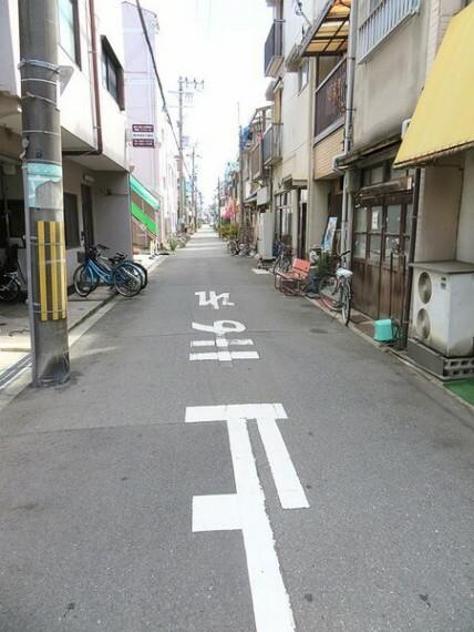 現況写真 整備されている道路です