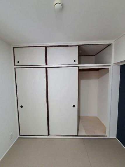収納 和室4.5帖:収納