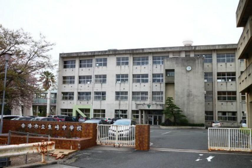 中学校 【中学校】常滑市立鬼崎中学校まで400m