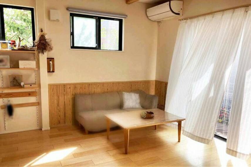 居間・リビング LDK16.2畳、広いリビングは家族が自然と集まる居心地の良い空間