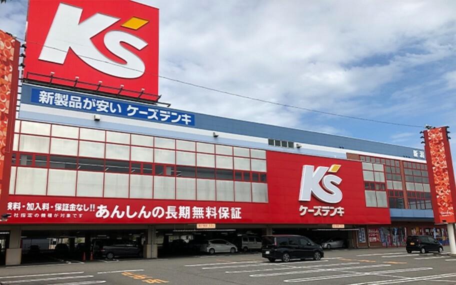 ケーズデンキ新潟河渡店