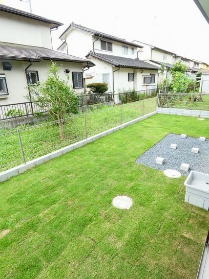 庭 ゆとりのあるお庭