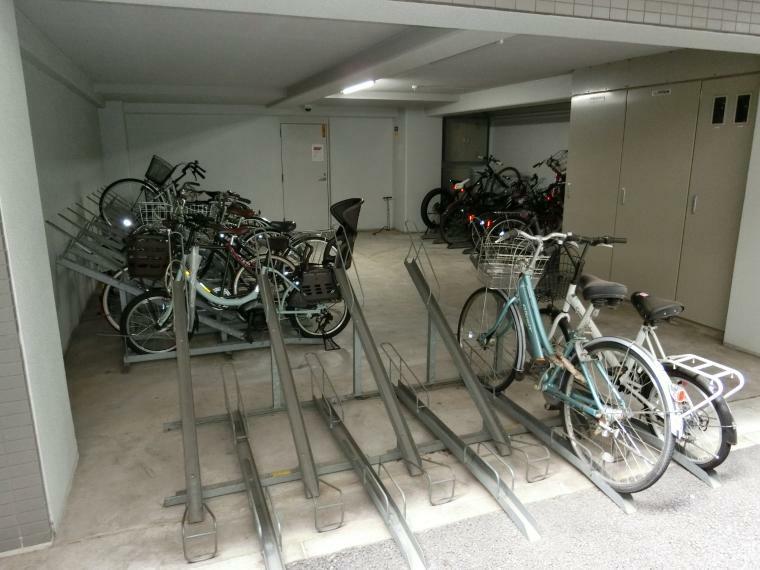 駐輪場 駐輪場完備しております。