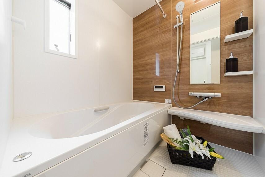 浴室 【LIXILArise浴室】  人がお風呂に求める『心地良い』という瞬間のために進化したバスルーム。(※当社施工例)