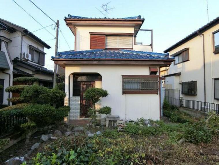 外観写真 久喜市菖蒲町三箇の一戸建ての外観です。