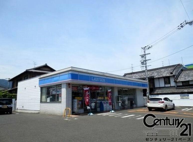 コンビニ ローソン河合町中山台店