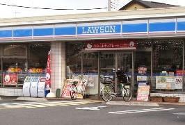 コンビニ ローソン草加新善町店 埼玉県草加市新善町300-5