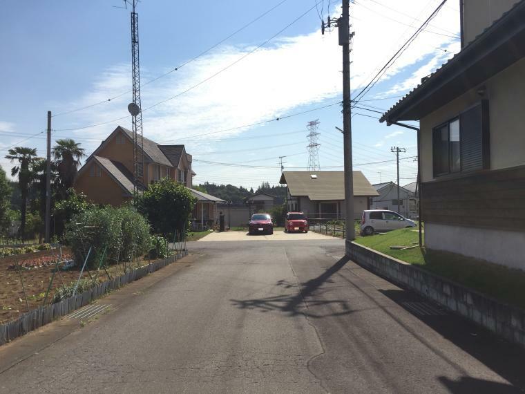 南西側道路を撮影(2021年5月撮影)
