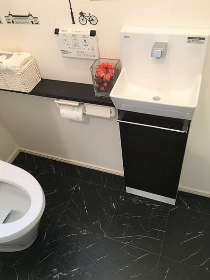トイレ 手洗い器も完備しています