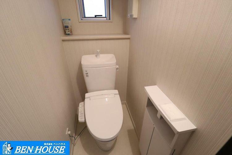 トイレ 2か所のトイレがございますので、朝の忙しい時間帯もご家族がスムーズに準備でき、便利ですね。 ・いつでも内覧可能です。 住宅ローンのご相談も賜ります 是非、お気軽にお問合せください