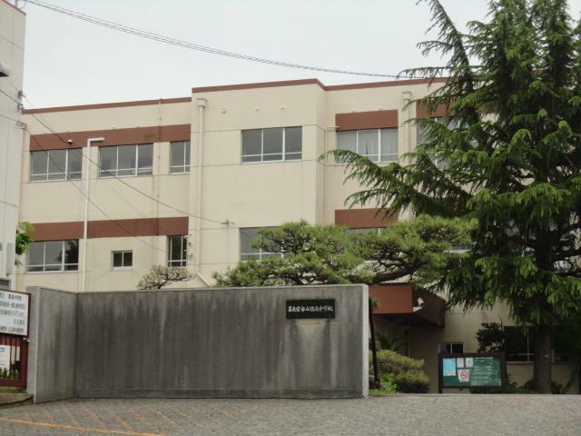 中学校 名古屋市立中学校 猪高中学校 愛知県名古屋市名東区丁田町33