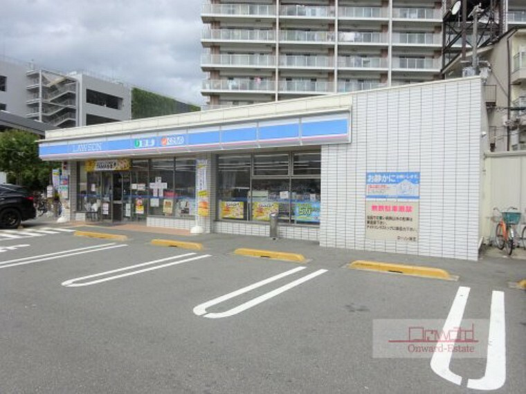 コンビニ 【コンビニエンスストア】ローソン 守口大日東町店まで200m