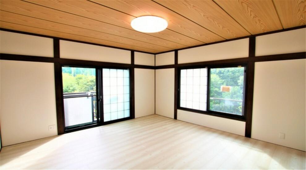 洋室 ゆとりある居住空間。