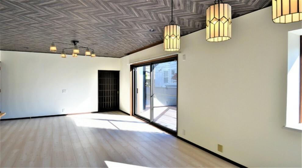 居間・リビング 開放的な空間になっています。