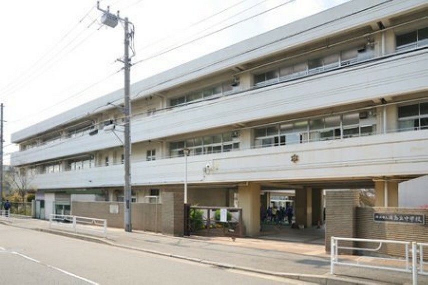 中学校 横浜市立浦島丘中学校 学制改革により新制中学校として浦島小学校を借用して開校  浦島伝説のある町