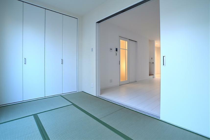 和室 ご家族のだれが、どこのお部屋にするのか。考えを巡らせながら物件探しをされるのは楽しいですね。