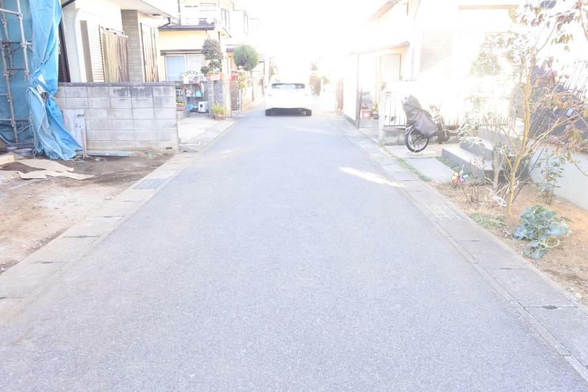 現況外観写真 前面道路