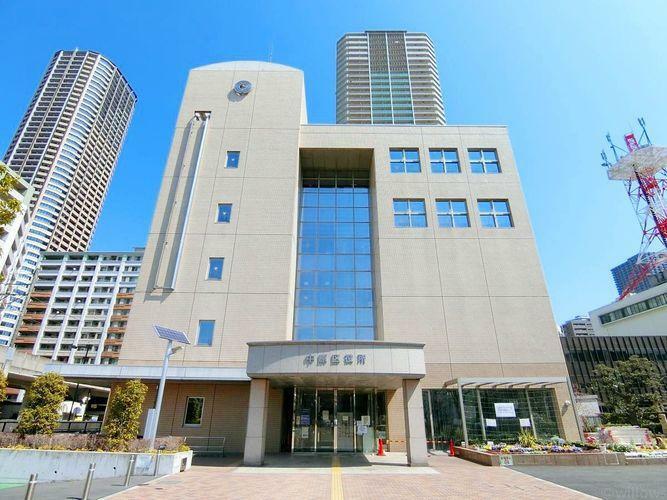 役所 川崎市中原区役所 徒歩4分。