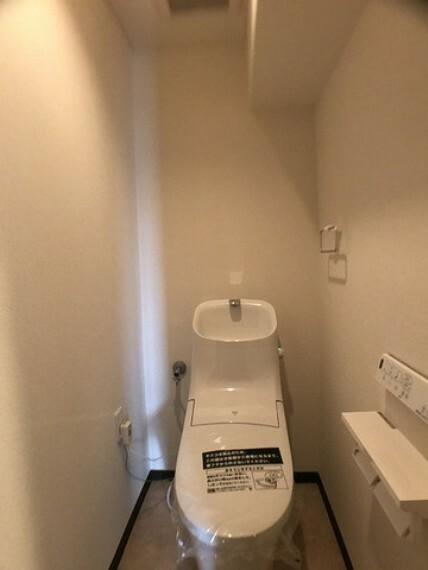 トイレ 新品に取替