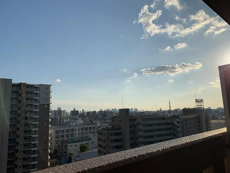眺望 バルコニーからの眺望・日当たり、眺望良好です