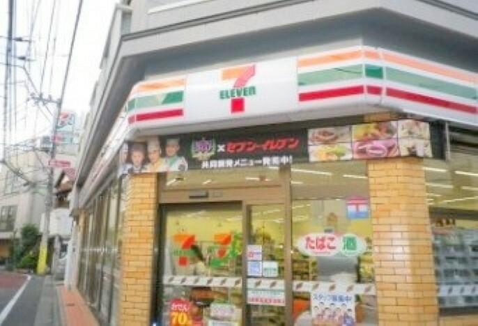 コンビニ 【コンビニエンスストア】 セブンイレブン世田谷三宿2丁目店まで52m