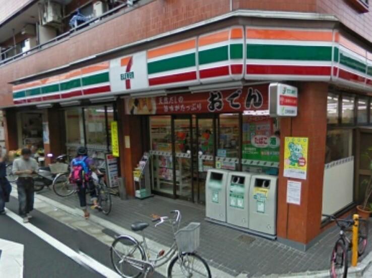 コンビニ 【コンビニエンスストア】セブンイレブン 世田谷三宿1丁目店まで518m