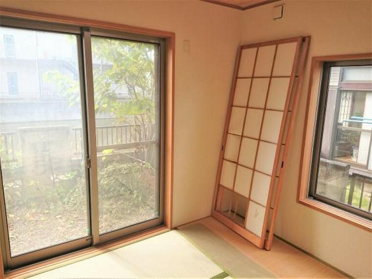和室 【リフォーム前】1階4.5帖の和室です。お子様のお昼寝にもちょうどよさそうです。畳は表替えします。