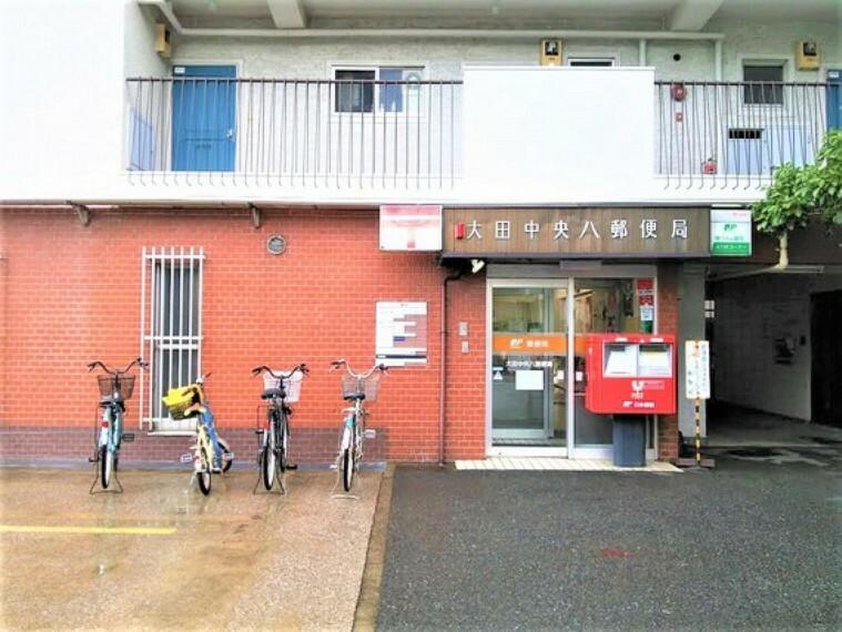 郵便局 郵便局が近くにあると様々な場面で便利ですよね。最近は赤いポストの数も減ってきた印象です。