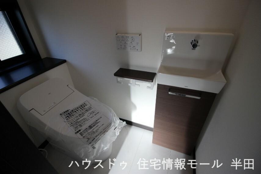 トイレ 洗面のついた便利なトイレ