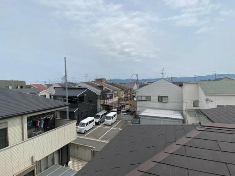 眺望 眺望!周囲に高い建物はなく、陽当りが遮られることはありません!