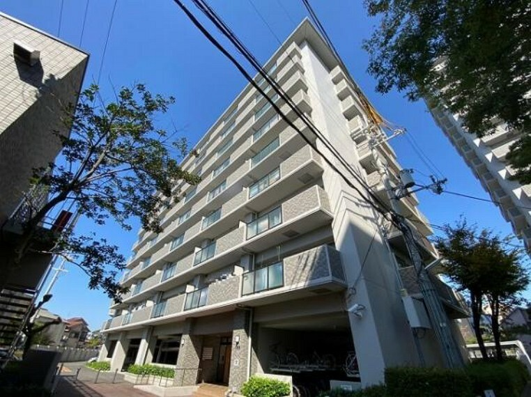 外観写真 RC造9階建てのマンションです!お部屋は6階部分です