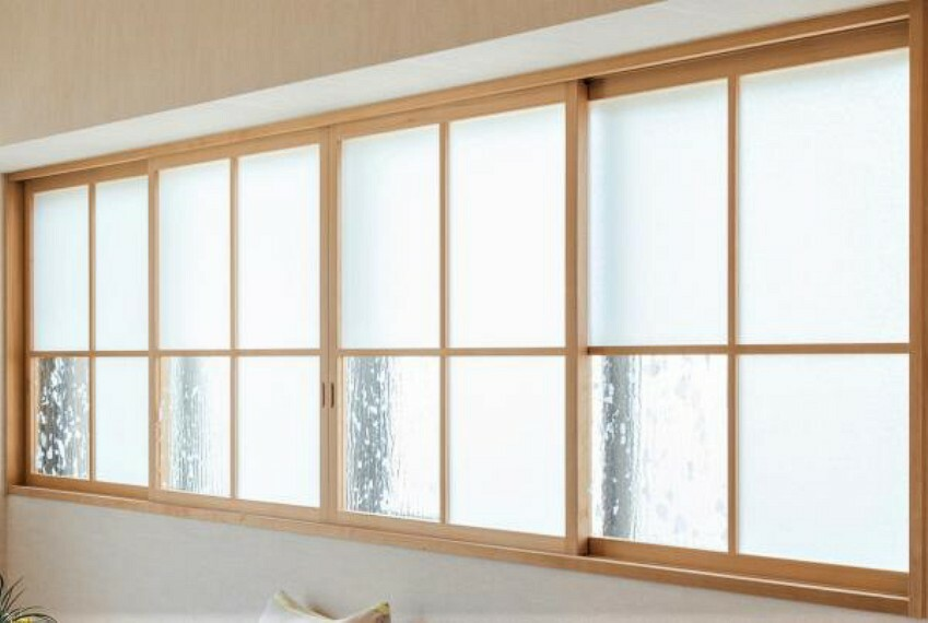 ~飾り窓プラン例~飾り窓設置、壁造作(同一タイプ)工事費50万(価格に含みません)