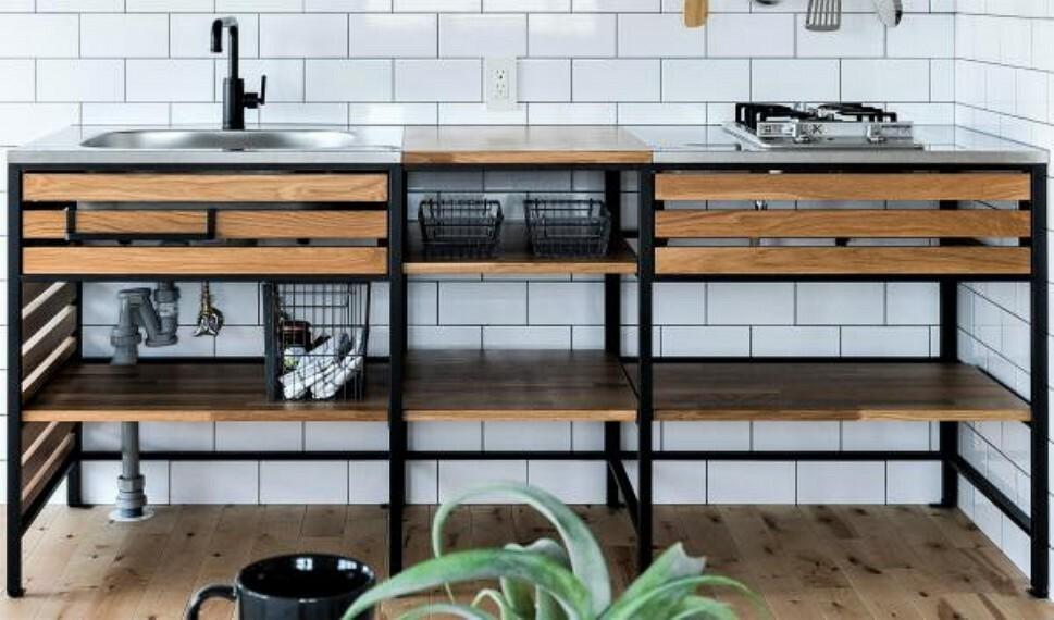 ~キッチンプラン例~システムキッチン設置(同一タイプ)工事費70万円(価格に含みません)