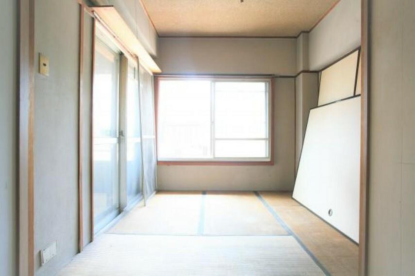 和室 南向きにつき心地よい光がお部屋に溢れます。2020.8月