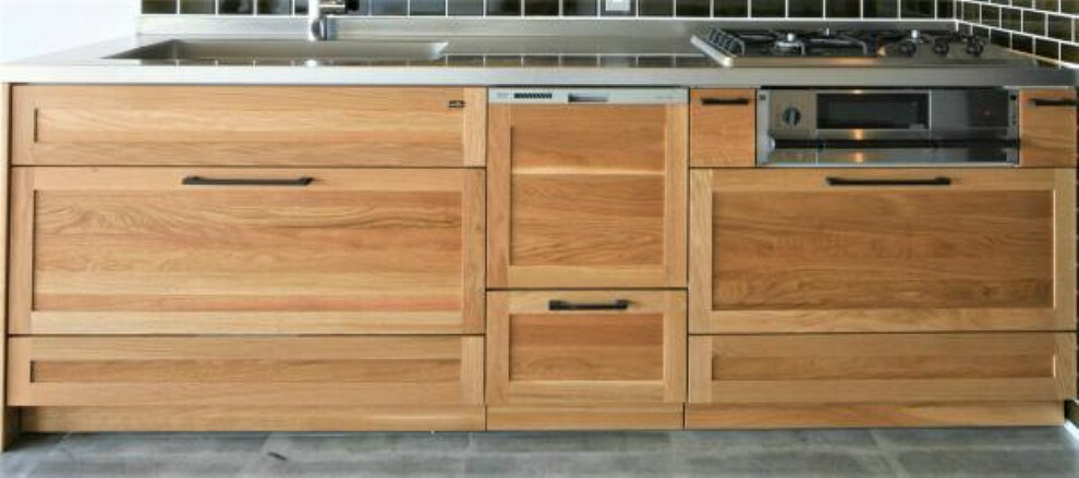 ~キッチンプラン例~システムキッチン設置(同一タイプ)工事費90万円(価格に含みません)