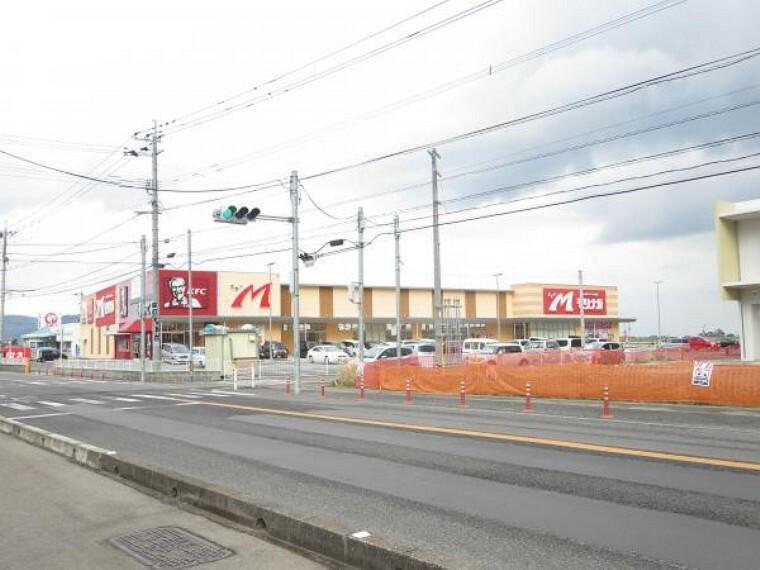 スーパー スーパーもりなが様まで970m。毎日のお買い物近くにあると便利ですね。