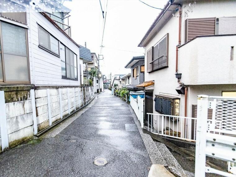現況写真 落ち着きのある閑静な住宅街。きっとここからご家族のかけがえのない想い出が作られることでしょう。