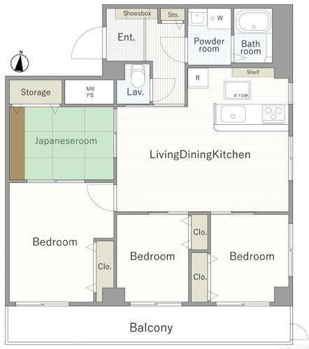 間取り図 3980万円、4LDK、建物面積82.44m2、平成21年に室内リフォーム済みです。室内のご見学も可能でございますのでお気軽にお問い合わせくださいませ。