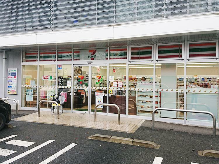 コンビニ セブンイレブン 藤沢善行2丁目店まで500m 近くにあると嬉しい何かと便利なコンビニまでは駅に向かう途中に。ちょっとしたお買い物はここで。