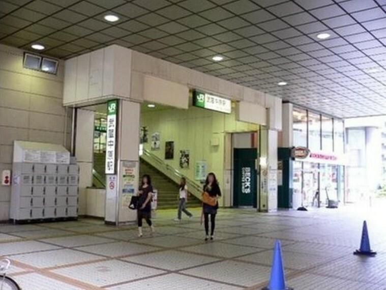 武蔵中原駅(JR 南武線) 駅に直結してスーパーやダイソー書店薬局などがあり便利です。飲食店も駅近くに多くあります。