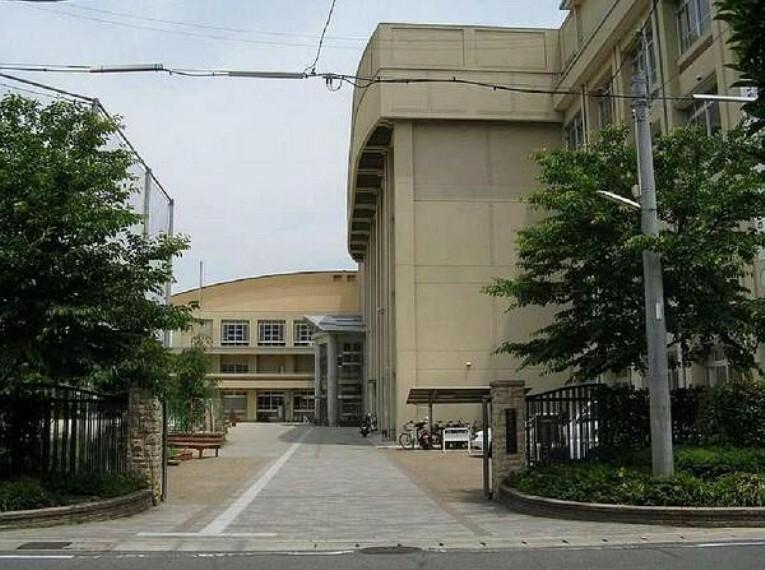 中学校 京都市立花山中学校