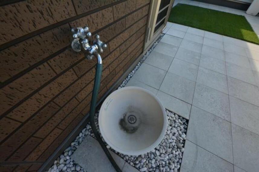 スカイバルコニー水栓