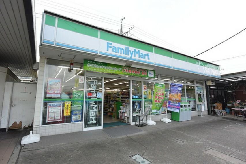 コンビニ ファミリーマート仏子駅前店