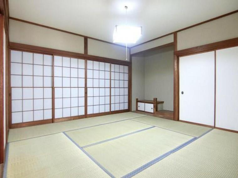 和室です。畳のお部屋が一部屋あると嬉しいですね。