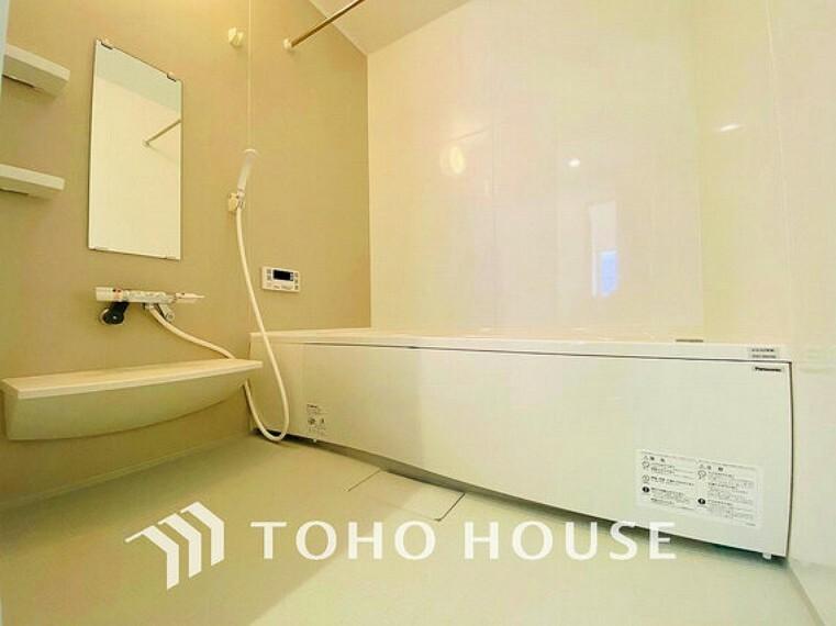 浴室 約1坪超えのバスルームは一日の疲れを癒す特別な空間に