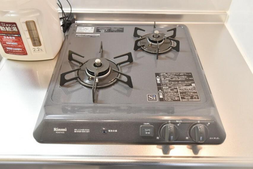 キッチン 2口ガスコンロ
