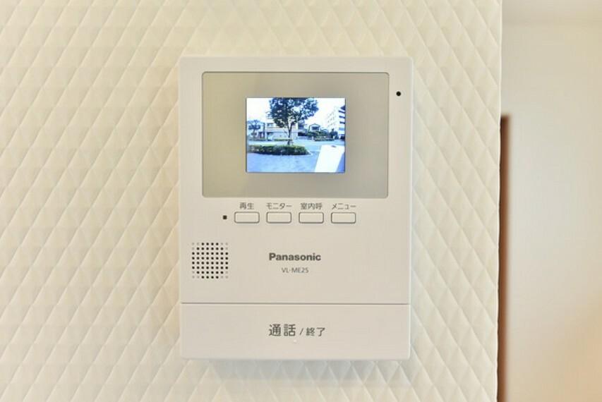 専用部・室内写真 1Fキッチン脇に安心のTVモニター付きインターホンです。